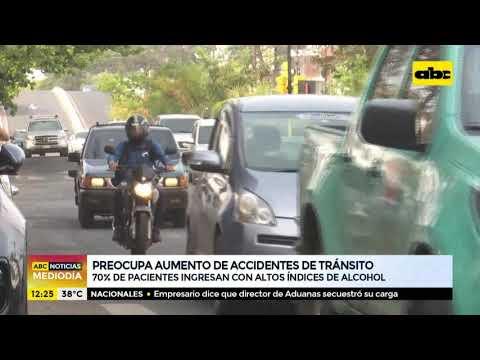 Preocupa aumento de accidentes de tránsito