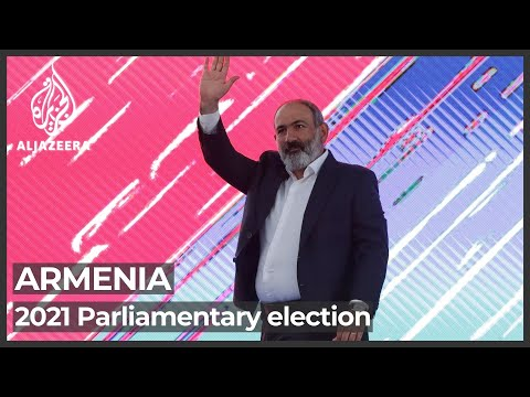 Armenia's Pashinyan claims 'convincing victory' in snap polls