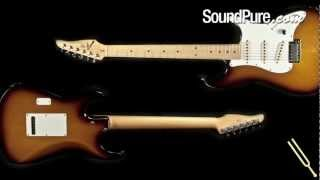 Anderson Classic Tobacco Burst Electric Guitar from Tom Anderson Guitarworks - Clean Tones
