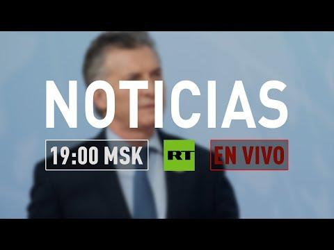connectYoutube - Mauricio Macri habla con RT durante su primera visita oficial a Rusia 🔴 NOTICIERO 23/01/2018