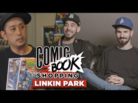 connectYoutube - Linkin Park Goes Comic Book Shopping With Collider
