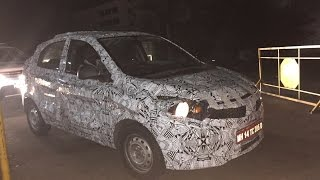 2015 Tata Kite hatchback spied testing in India