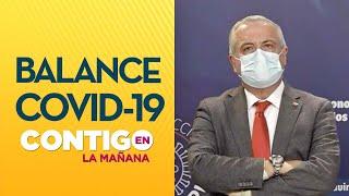 Minsal anunció 39.542 casos y 390 muertes por Covid-19 - Contigo en La Mañana