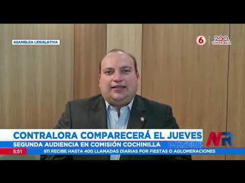 Diputados cuestionan a la Contraloría por la fiscalización de obras en el caso Cochinilla