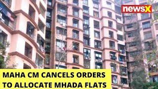 Big Set Back For Jitendra Awhad   Maha CM Cancels Orders To Allocate MHADA Flats   NewsX - NEWSXLIVE
