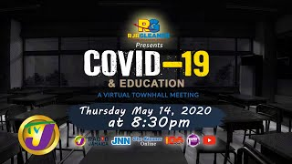 RJRGleaner Virtual Town Hall Meeting COVID-19 & Education @8:30pm