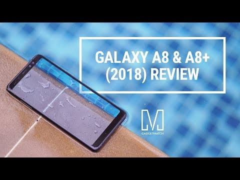 Samsung Galaxy A8 and A8+ (2018) Review