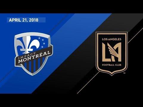 HIGHLIGHTS  Montreal Impact vs. Los Angeles Football Club | April 21, 2018