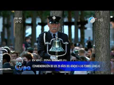 Conmemoración de los 20 años del ataque a las Torres Gemelas