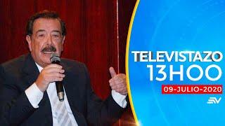 NOTICIAS ECUADOR: Televistazo 13h00 9/julio/2020