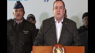 Pdte. Alejandro Giammattei ofrece detalles del Estado de Prevención en Villa Nueva