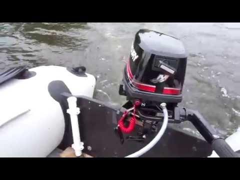 Способы обкатки лодочного мотора