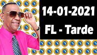 Resultados y Comentarios La Florida Tarde (Loteria Americana) 14-01-2021 (CON JOSEPH TAVAREZ)