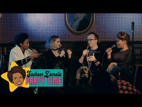 No Gray Areas (Improv Game with Chris Gethard and Hadiyah Robinson) | Sasheer Zamata Party Time!