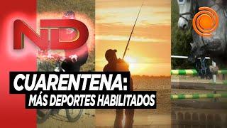 Nuevos horarios y más deportes habilitados en Córdoba