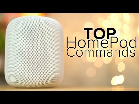 Top Siri Commands for HomePod