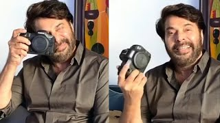 Mammootty Shares About His New Gadget EOS R5 Camera |TFPC - TFPC