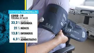 375 integrantes del personal salud se han recuperado del COVID-19  - Telemedellín